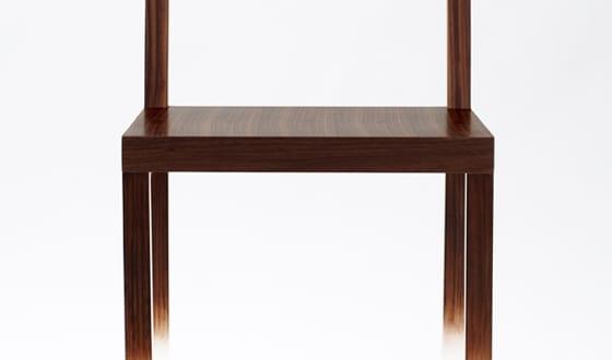 Designer-Stuhl fadeout von nendo für spektakuläre Einrichtung Esszimmer