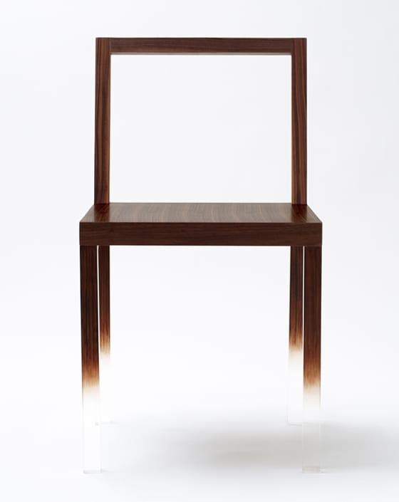 designer stuhl fadeout von nendo f r spektakul re einrichtung esszimmer freshouse. Black Bedroom Furniture Sets. Home Design Ideas