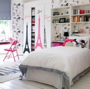 coole deko ideen kindersczimmer mädchen_moderne einrichtung und farbgestaltung schlafzimmer