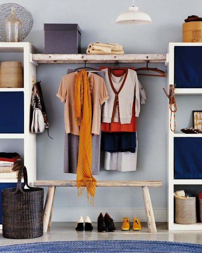 Coole Deko Ideen Schlafzimmer Mit DIY Wandschrank Und Ankleide