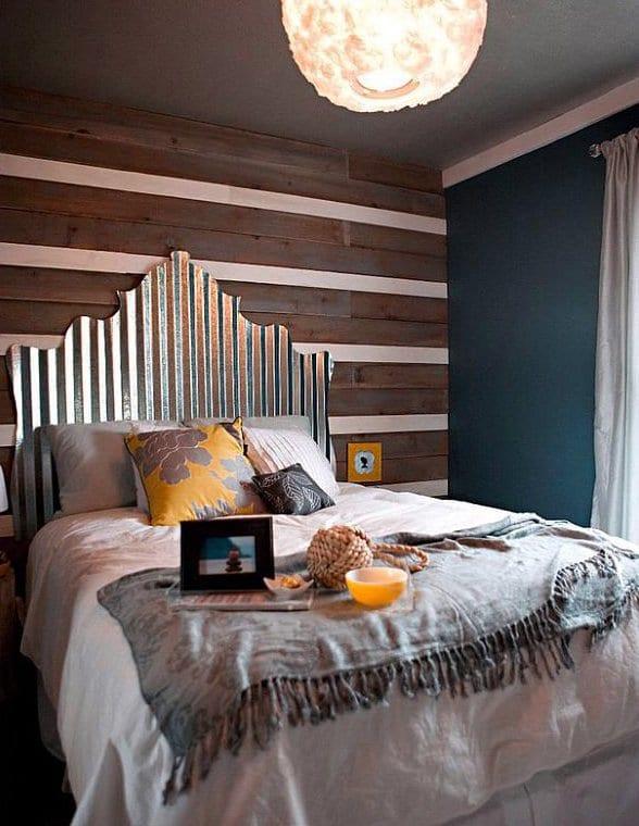 Coole Deko Ideen Und Farbgestaltug Schlafzimmer Mit Wandfarbe Blau
