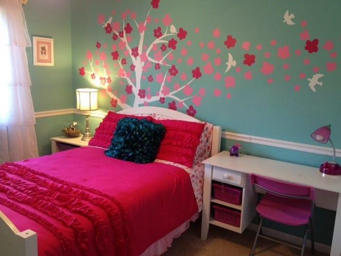 Coole Deko Ideen Und Farbgestaltung Schlafzimmer Mädchen