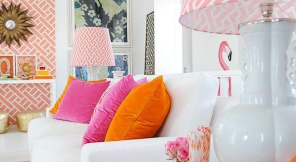 coole farbgestaltung in rosa und pink
