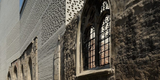 Wenn die moderne Architektur die Vergangenheit trifft