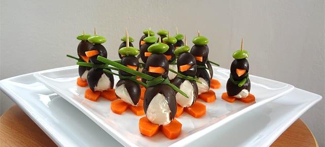 coole und kreative idee für party-Essen-dekoration