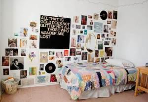 coole wanddeko schlafzimmer selber machen