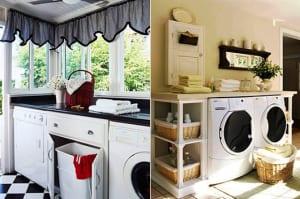 einrichtungsidee-für-kleine-waschküche-mit-waschmaschine-und-trockner