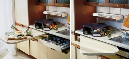 Kleine kuche ausstatten mit platzsparenden losungen for L sungen für kleine küchen