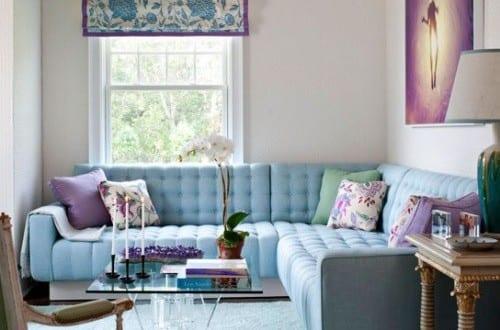 Kleines Wohnzimmer Farbgestaltung Fur Optische Vergrosserung In