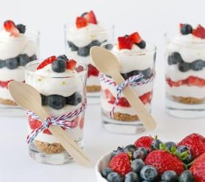 leckere Trifle-Nachtische als coole Party-Essen-idee