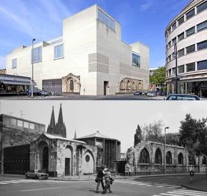 minimalistische-architektur-und-ziegelfassade-hellgrau_museum-kolumba-in-köln-von-zumthor