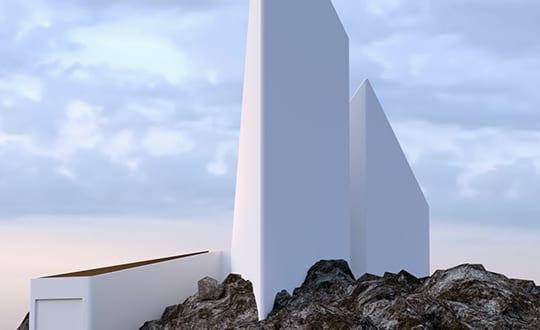 Minimalistisches haus bilder als beispiel für moderne architektur