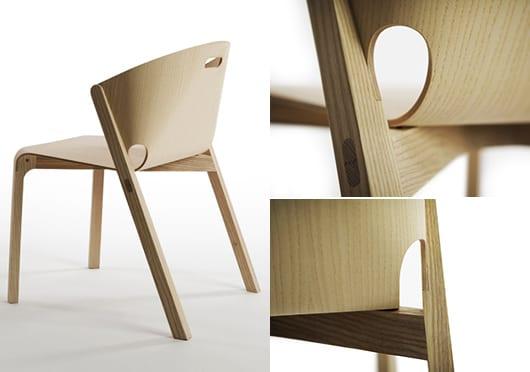 Moderne Holzstuehle Fuers Esszimmer Freshouse