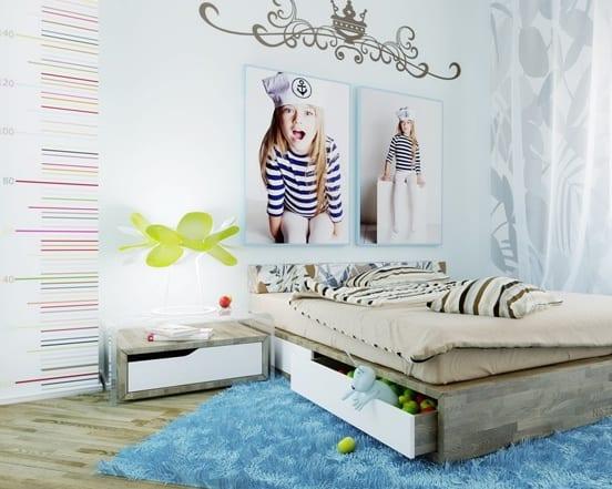 Lieblich Moderne Kinderzimmer Gestalten Und Einrichten_coole Deko Ideen Schlafzimmer  Mädchen