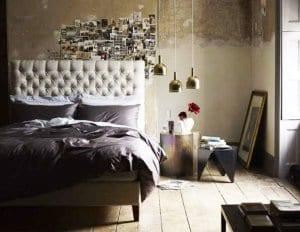 moderne schlafzimmer deko ideen und wandgestaltung mit fotos