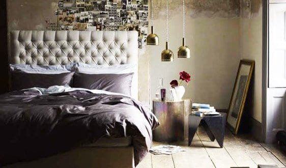 moderne schlafzimmer deko ideen und wandgestaltung mit. Black Bedroom Furniture Sets. Home Design Ideas