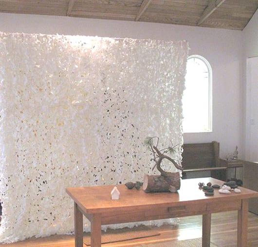 Moderner Raumteiler Aus Textil Snowfall Von Ouno Design Freshouse