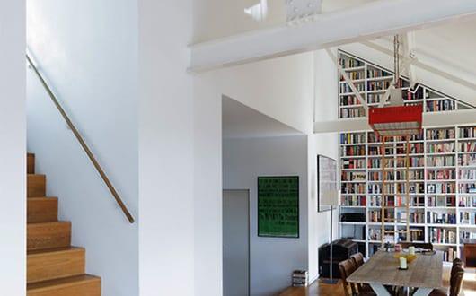 Modernes Wohnzimmer Inspiration Einer Mezzanine Wohnung