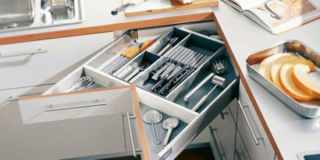 Platzsparen Mit Eck-schubladen Als Coole Idee Für Küchen