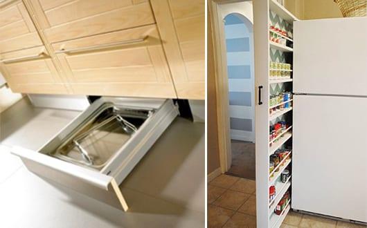 Platzsparende ideen für maximale nutzung der küche