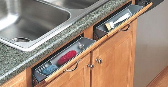 platzsparende und interessante idee für kleine küche - fresHouse