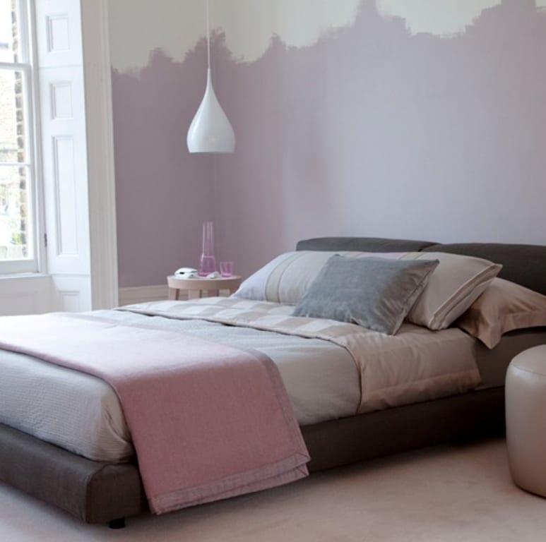 schlafzimmer farbgestaltung und streichen idee für optische ...