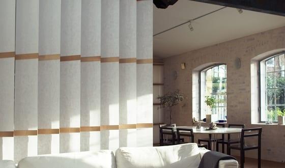 textil raumteiler für dezente raumtrennung mit System R von Ann Idstein