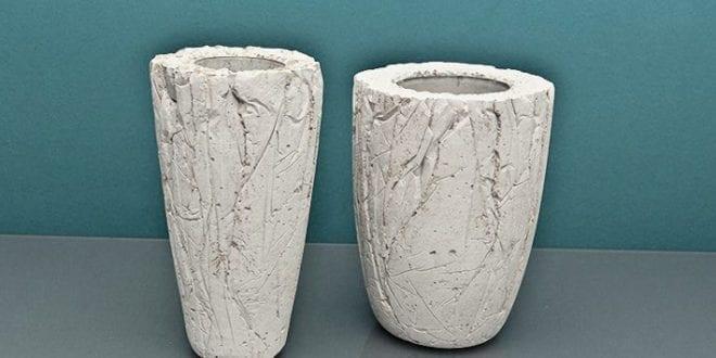 Coole Bastelidee für DIY-Vase aus Beton