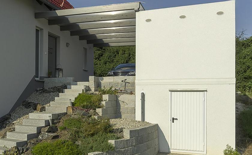 Bekannt beton fertiggarage als Einzelgarage mit Keller - fresHouse YZ13