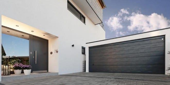 Moderne Beton-Fertiggaragen