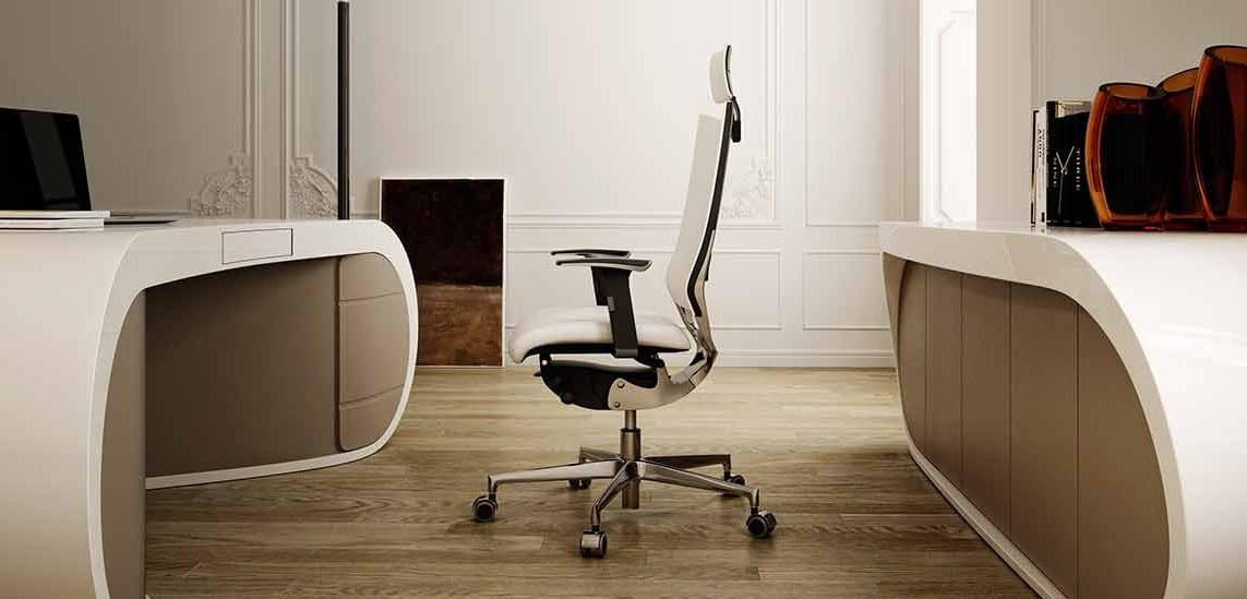 Moderne büromöbel weiss  designer schreibtisch_büroräume modern einrichten mit buromöbel in ...