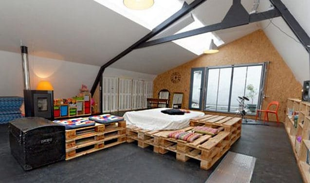 diy bett als wohnidee f r kreative kinderzimmergestaltung. Black Bedroom Furniture Sets. Home Design Ideas