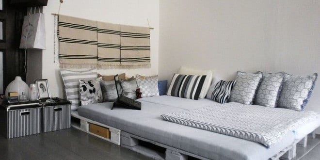 Wohnideen Schlafzimmer Diy diy bett als wohnidee und gestaltung schlafzimmer rustikal mit