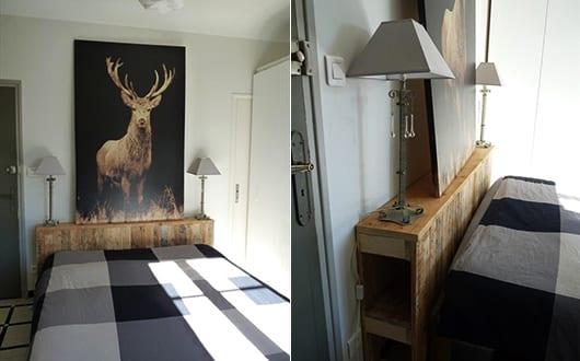 diy bett aus holz als kreative wohnidee f r schlafzimmer dekoration und diy sideboard kopfteil. Black Bedroom Furniture Sets. Home Design Ideas