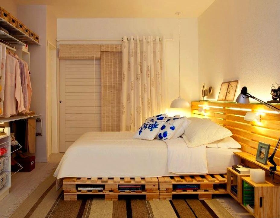Diy Bett Idee Aus Paletten Fur Coole Schlafzimmer Einrichtung