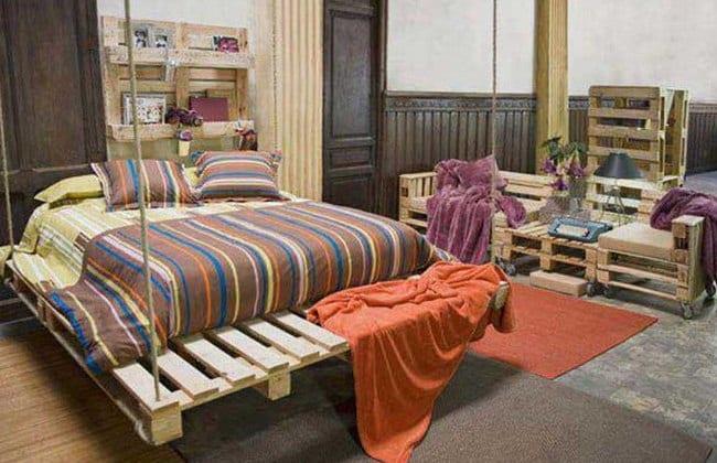 Diy Bett Und Schlafzimmer Mobel Aus Paletten Freshouse