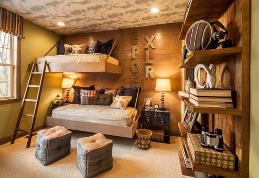 Etagenbett Als Hängebett Für Kleines Kinderzimmer Einrichten