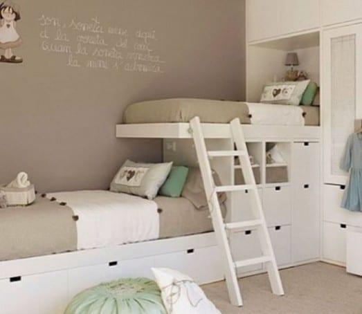AuBergewohnlich Etagenbett Als Kinderzimmerideen Für Einrichtung Kleines Kinderzimmers