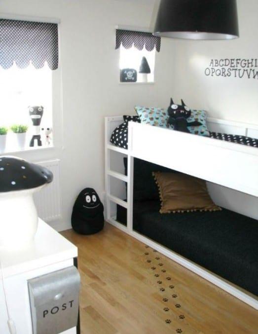 Kleines Kinderzimmer Einrichten Mit Etagenbett Freshouse