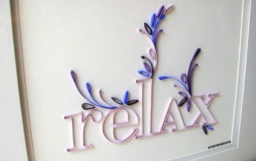 kreative wandgestaltung mit deko aus papier und coole ...