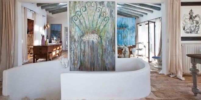 Atelier und Haus am See in Costa Brava