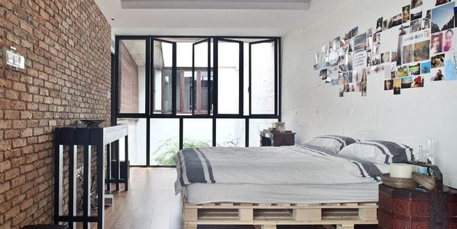 moebel aus paletten bauen als cole idee fuer betten aus. Black Bedroom Furniture Sets. Home Design Ideas