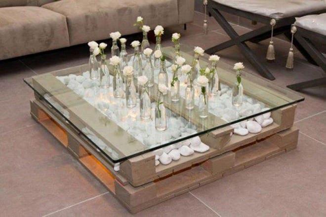Wohnzimmertisch Paletten paletten design wohnzimmertisch fuer moderne wohnzimmer