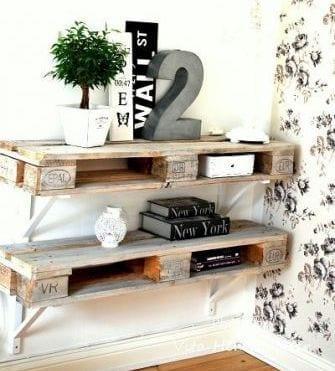 was kann man aus paletten bauen als kreative wohnidee mit DIY ...