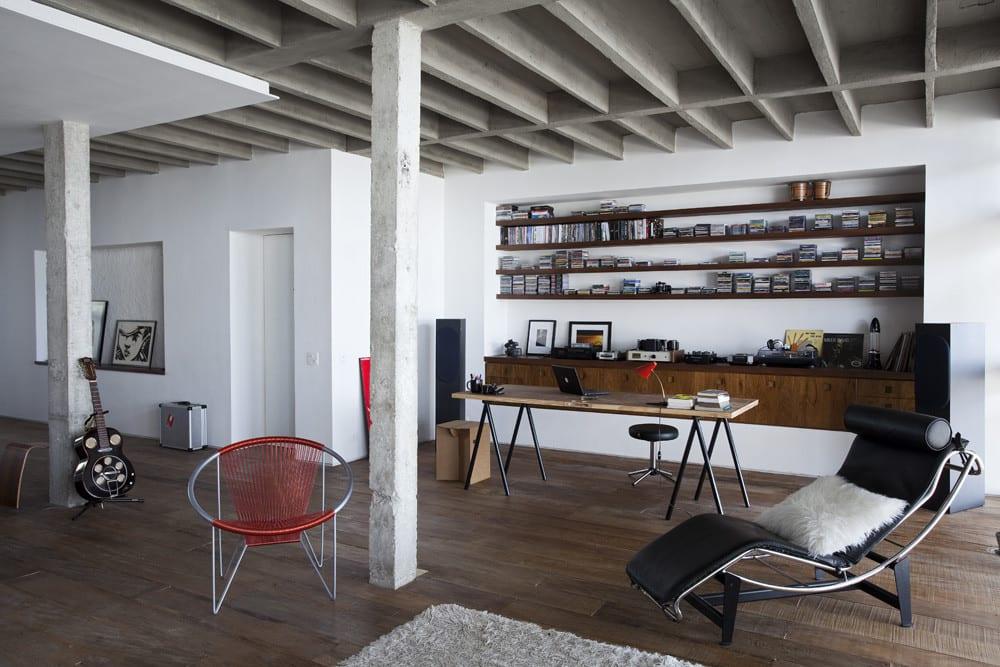 Loft wohnung mit modernem home office freshouse