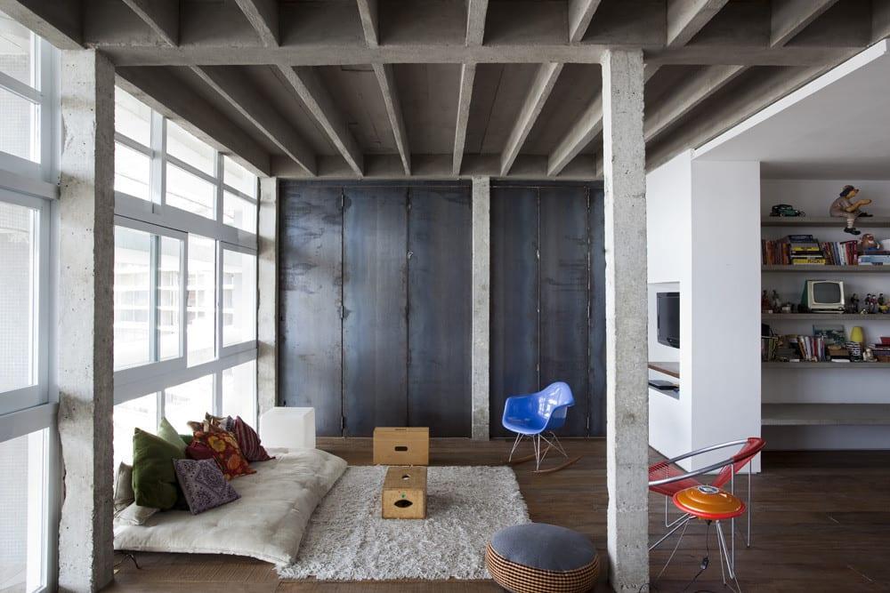 Loft wohnung modern einrichten modernes wohnzimmer design freshouse