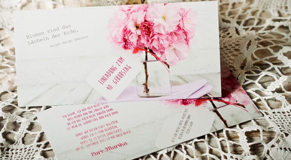 Besondere Und Kreative Einladung Zum Geburtstag