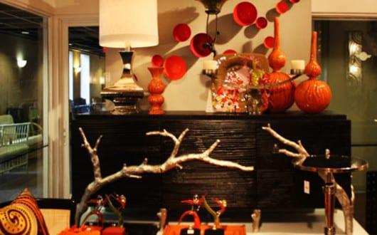 coole-dekoideen-wohnzimmer-mit-designer-sideboard-schwarz-und ...