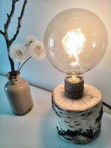 coole designer-lampe selber bauen aus holz