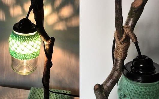 coole zweig lampe selber bauen oder einfach kaufen freshouse. Black Bedroom Furniture Sets. Home Design Ideas